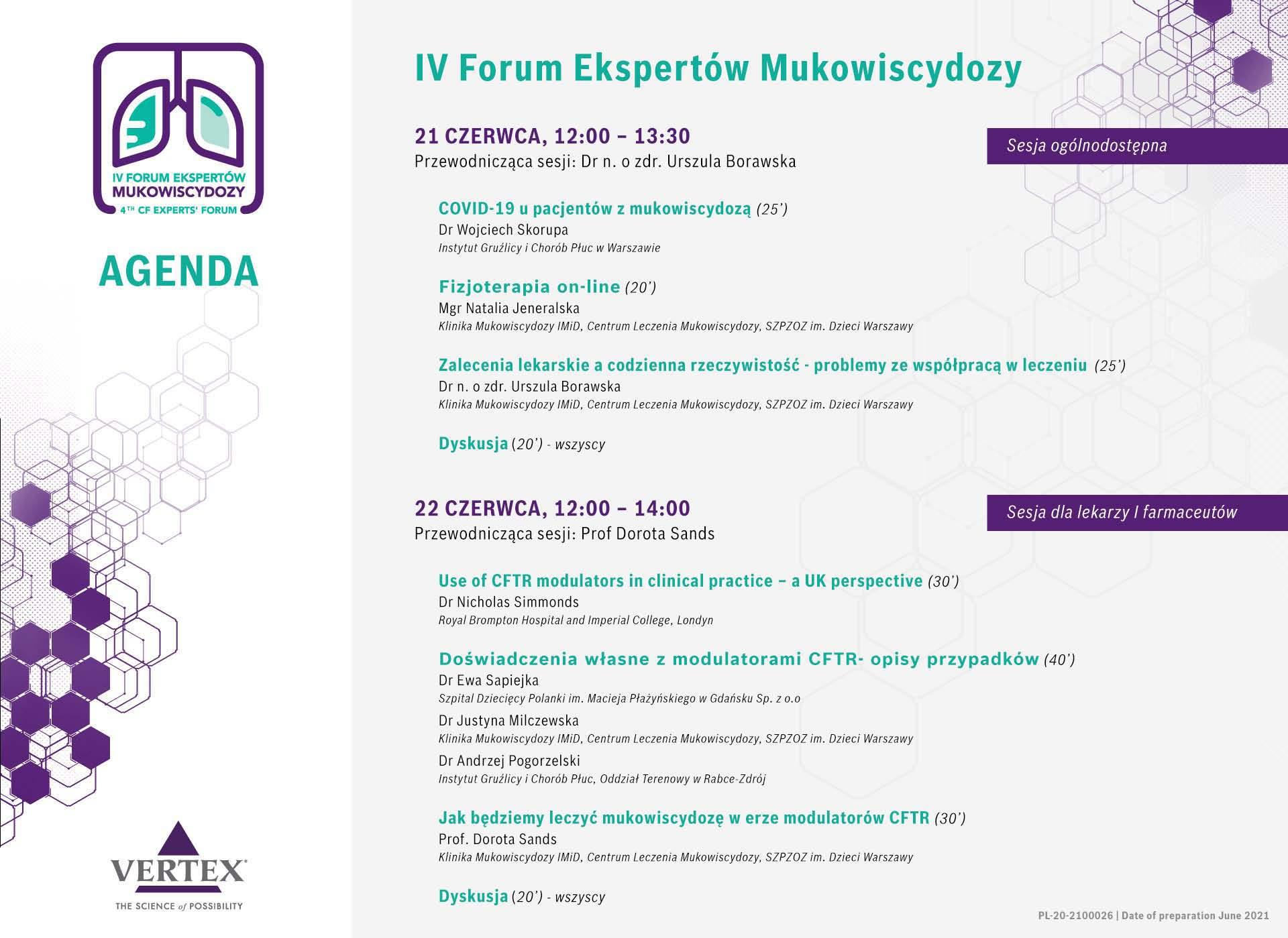 IV Forum Ekspertów Mukowiscydozy